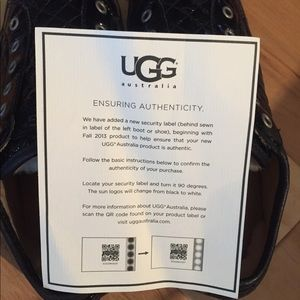 UGG Shoes - Ugg Laela Patent Leather Quilted Sneaker